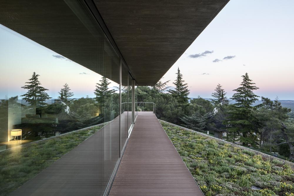 Oak house in El Escorial
