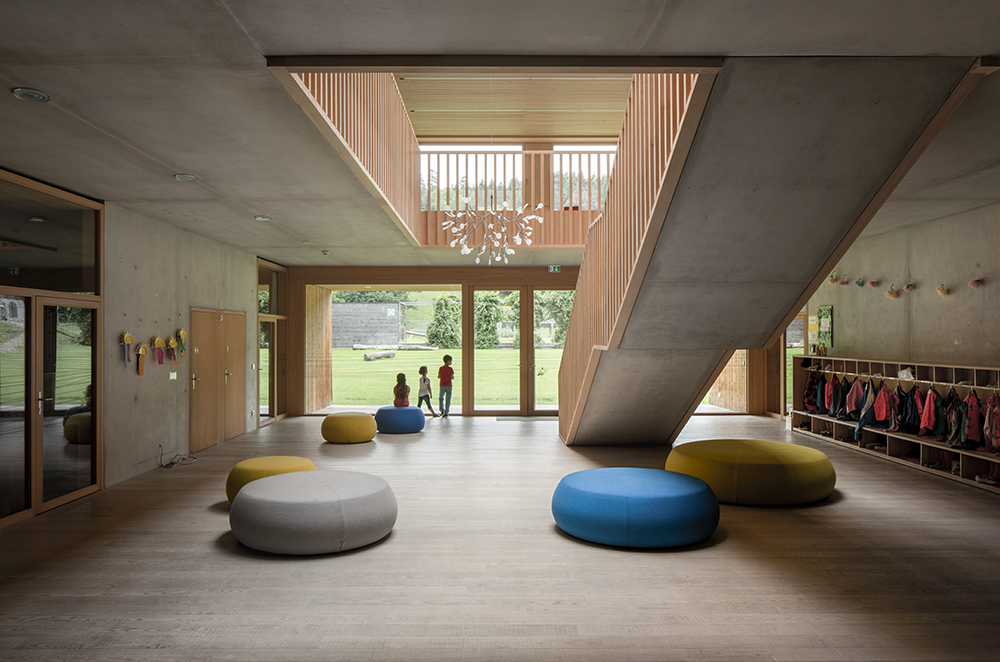 Kindergarten Susi Weigel in Bludenz, Austria