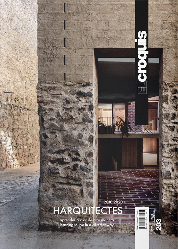 Cover El Croquis 203 - Harquitectes