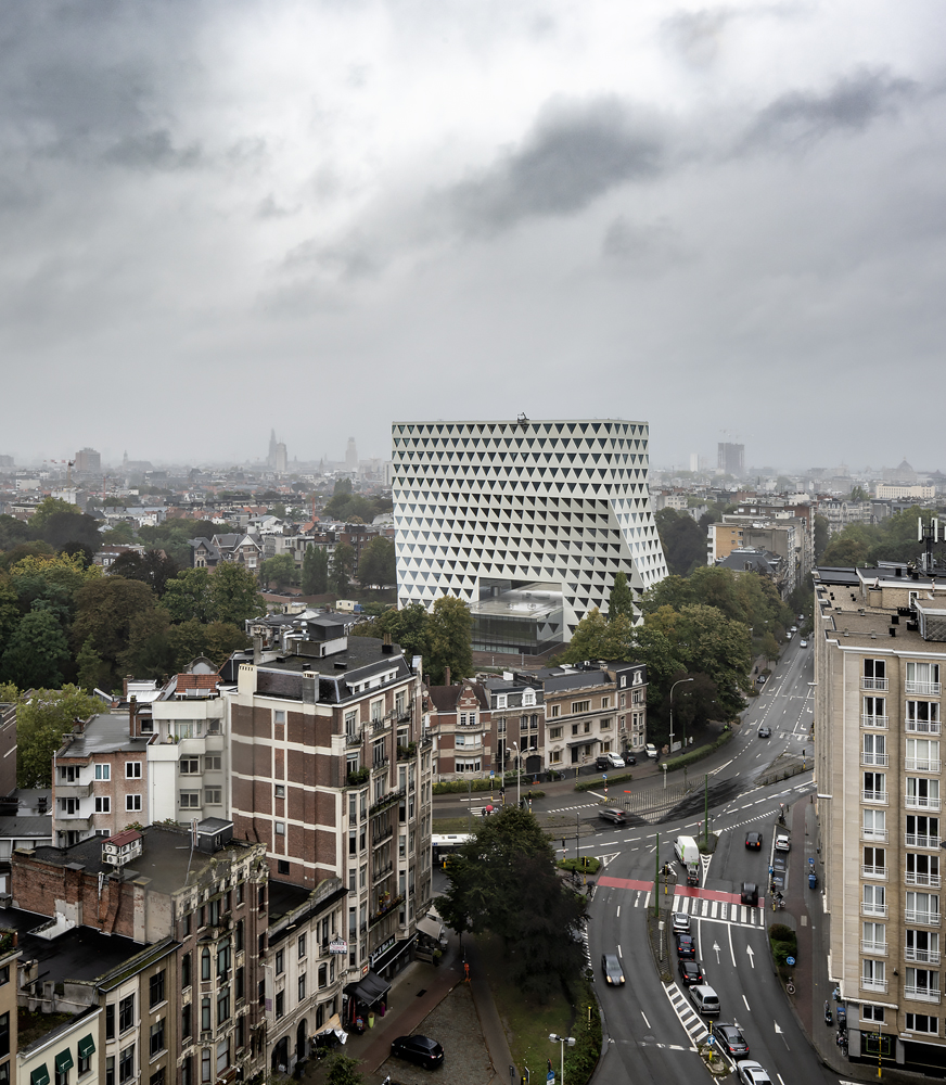 Province Headquarters in Antwerp, Belgium.